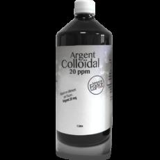 Argent colloïdal 20ppm 1L