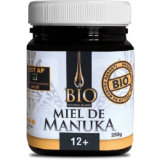 Miel de Manuka Bio 12+ 250gr