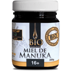 Miel de Manuka Bio 16+ 250gr