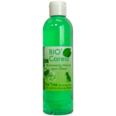 Shampooing Bio'Caresse Tea Tree : Peau et Pelages Fragiles 250ml