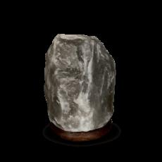 Lampe en Cristal de Sel Grise/Noire KALA NAMAK 2/4kg