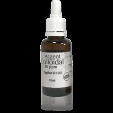 Argent colloïdal hygiène de l'oeil 20ppm 30ml